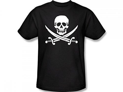 Jolly Roger skull & crossbones - Men's T-Shirt
