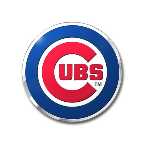 MLB Chicago Cubs Die Cut Color Automobile Emblem ()