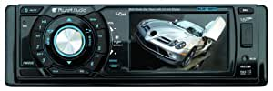 Planet Audio P9685B 3.2-Inch Single-Din In-Dash Receiver with Drop-Down Widescreen Monitor