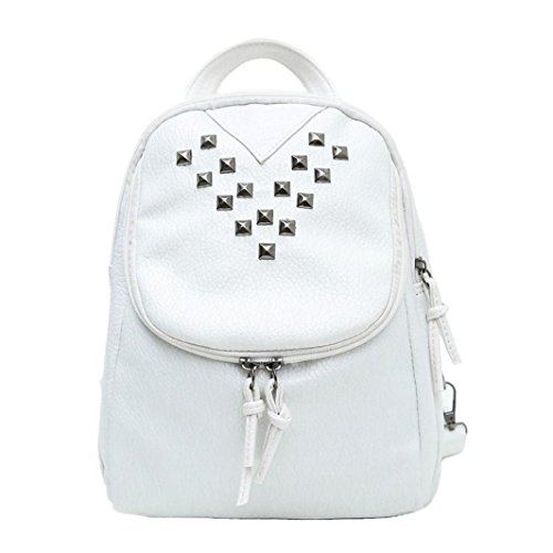 Outtop Travel Backpack Shoulder Bag For Women (White)