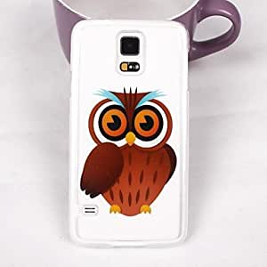 TOPMM Beautiful Owl Pattern PC Back Case for Samsung Galaxy Note 4