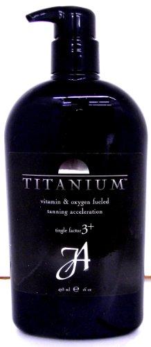 John Abate Titanium Vitamin & Oxygen Fueled Tanning Accel...
