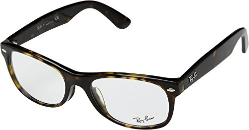 Ray-Ban Unisex 0RX5184F 54mm Dark Havana One - Contact Ray Lenses Ban