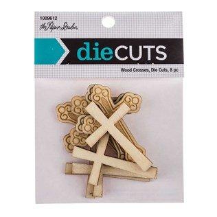 Wood Die Cut - Wood Cross Die Cuts