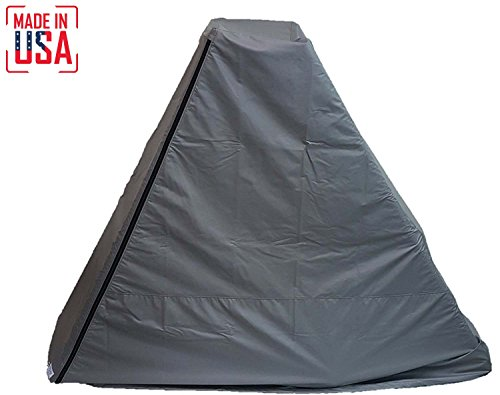 THE BEST Elliptical Machine Cover   Front Drive. Heavy Duty Fitness Equipment Protective Covers Ideal for Indoor or Outdoor Use. Made in USA with 3-Year Warranty. (Grey, Small Extra (Front Drive Elliptical)