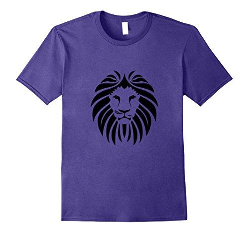 Men's Lion Face Hair T-Shirt Zoo Animal Africa Tiger Bite...