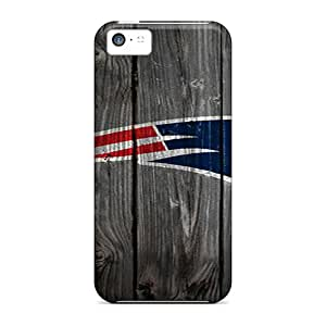 Awesome New England Patriots Flip Cases With Fashion Design For Iphone 5c Black Friday