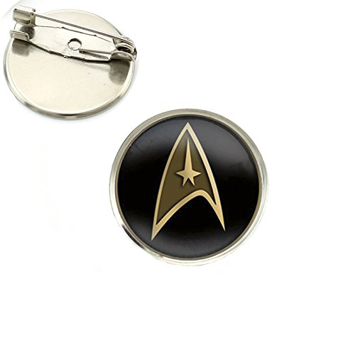 Star Trek cl/ásico cosplay Metal perno distintivo