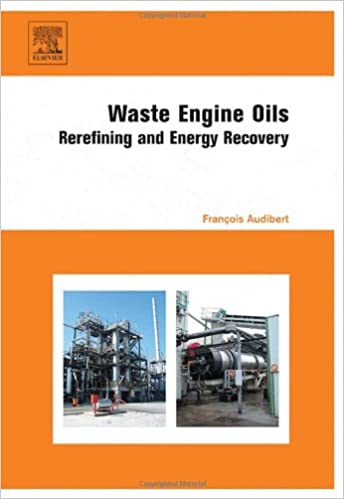 Book Waste Engine Oils: Rerefining and Energy Recovery