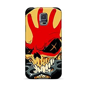 Shockproof Hard Phone Cover For Samsung Galaxy S5 (MVg2897vkpp) Support Personal Customs Beautiful Metallica Image