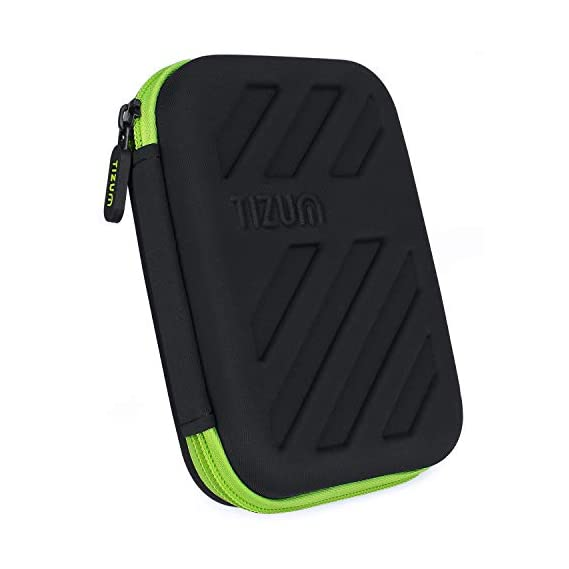 ORPIO (LABLE) Waterproof Double Layer Electronic Accessories Universal Carry Travel Gadget Organizer Bag/Case for Cables