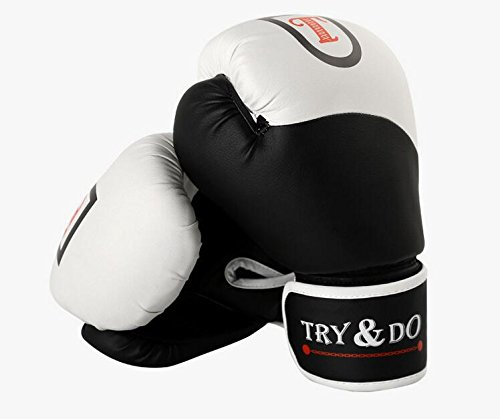 TTYY Boxing Gloves Comprehensive Fighting Thai Boxing Karate Fitness Training Protection, B by TTYY (Image #7)
