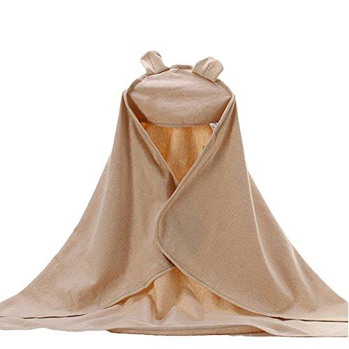 HomeofyingSoft Hooded Towel Kids Beach Pool Bath Wrap Washcloth Newborn...