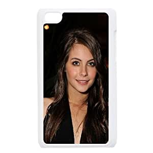iPod Touch 4 Case White Willa Holand Celebrity Star Actress Kqjke