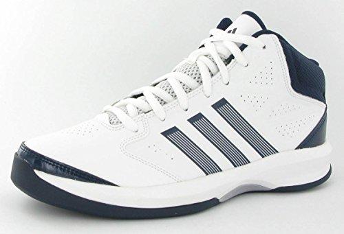 reputable site 7755b c4b18 Adidas 39 white Hombre Baloncesto Isolation De Zapatillas navy 5 Blanc  Cuero white rXzrwvnqW
