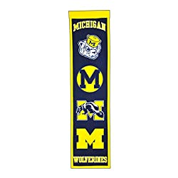 NCAA Michigan Wolverines Heritage Banner