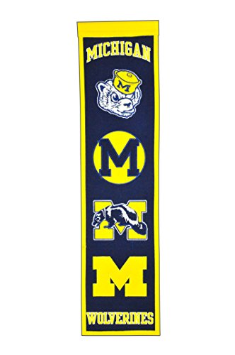 - NCAA Michigan Wolverines Heritage Banner