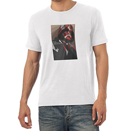 TEXLAB - Dark Art - Herren T-Shirt, Größe L, weiß