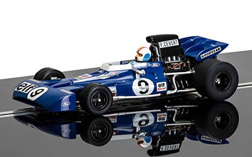 Scalextric C3759A Legends Limited Edition Tyrrell 002 Francois Cevert Slot Car (1:32 Scale)
