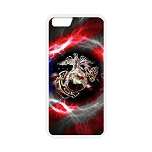 Custom TPU case with Image from USMC Marine Corps Snap-on cover for iphone 6 Plus 5.5