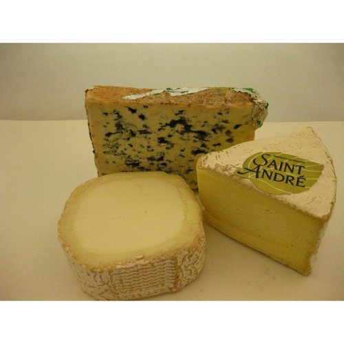 French Cheese Small Assortment - 3 Cheeses (8 oz Each)