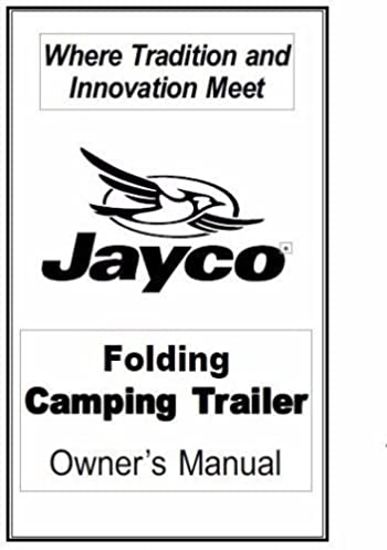 jayco fold down trailer owners manual 2000 eagle plastic comb rh amazon com jayco eagle owner's manual australia 1997 jayco eagle owner's manual