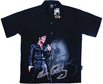 Elvis Presely Special 68 Club Shirt, Dragonfly (L)
