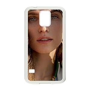 Samsung Galaxy S5 Cell Phone Case Covers White alyssa Miller Elle Italia Xvuih