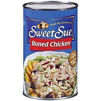 Sweet Sue: Boned Chicken, 50 Oz
