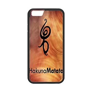 iPhone 6 4.7 Inch Phone Cases Animation Hakuna Matata Back Design Phone Case BBHE2091045