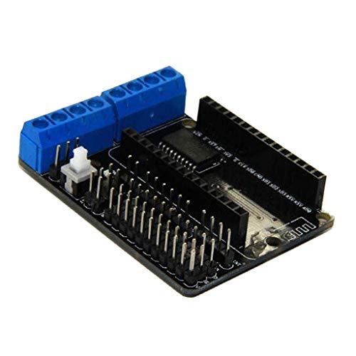 L293DNodeMCU開発ボード 拡張モジュール モータードライバー 4.5-36V ESP-12 DEV 用