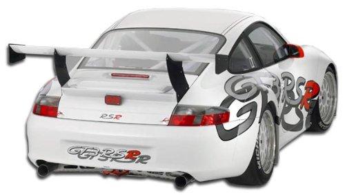 Duraflex Replacement for 2002-2004 Porsche 911 Carrera 996 C2 C4 GT3 RSR Look Wide Body Rear Bumper Cover - 1 Piece ()