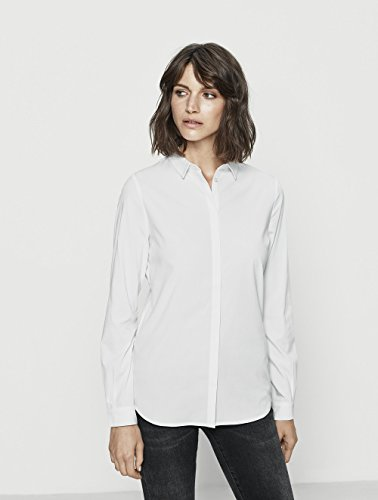 SELECTED FEMME Sfromie Ls Shirt Noos, Blusa para Mujer Blanco (Bright White)