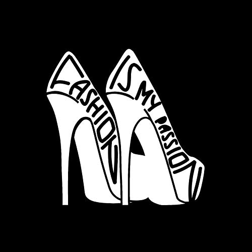 decal style 12 4x12 2cm fashion quote girl room shoes woman fun Aftermarket Body Parts decal style 12 4x12 2cm fashion quote girl room shoes woman fun vinyl decals car sticker black silver c20 0067 amazon