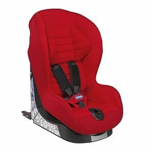 Chicco 07079241710000 Xpace Isofix - Silla de bebé para coche (grupo 1, niños: 9-18 kg), color rojo