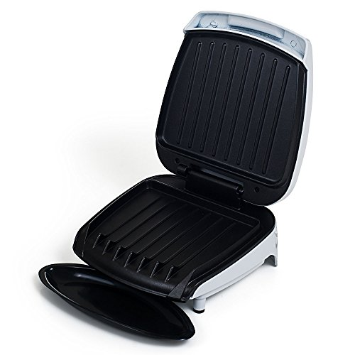 Electric Indoor Grill With Nonstick Plates for Low Fat Healthy Cooking and Grilling By Chef Buddy