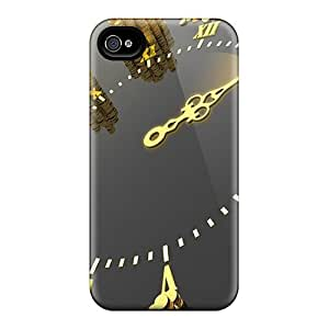 4/4s Scratch-proof Protection Case Cover For Iphone/ Hot Time Is Money Phone Case
