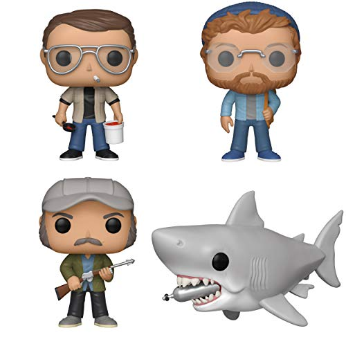 Funko Movies: Pop! Jaws Collectors Set - Chief Brody, Matt Hooper, Quint, 6