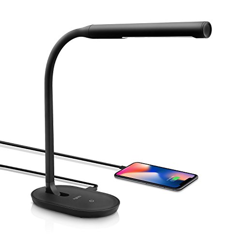 Aglaia Desk Lamp, Eye-Care Dimmable Reading Light 7W with USB Charging Port, 3-Level Dimmer with Touch Sensitive...