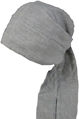 【室内帽子】オーガニックコットンバンダナキャップ グレー SIGN M-LABEL サイン NOC認定商品