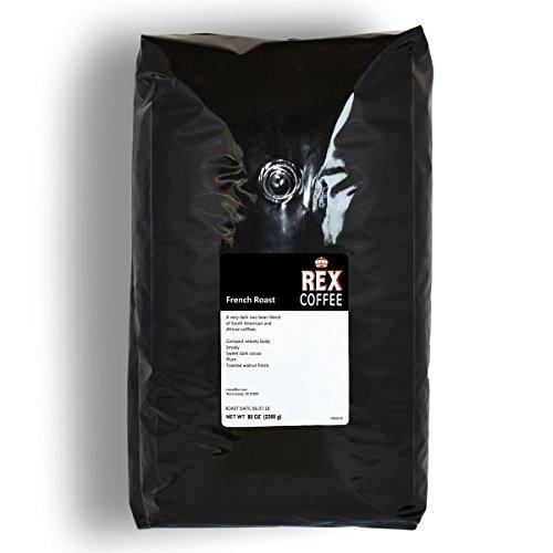 Rex French Roast Whole Bean Dark Roast Coffee (5 lbs)