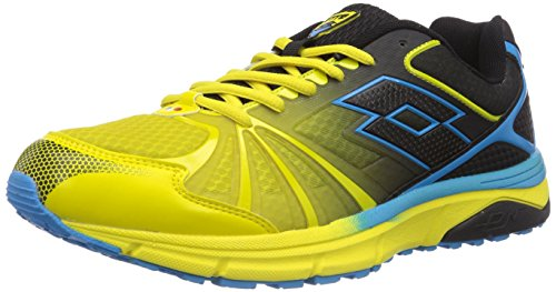 Lotto Sport MOONRUN - zapatillas de running de goma hombre multicolor - Mehrfarbig (GRN LIZ/BLACK)