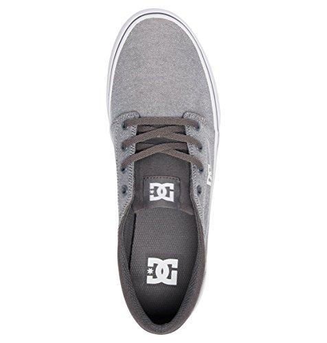 Baskets Gris Homme Tx Grey Shoes Se Trase White Dc Basses ZqOSTwn