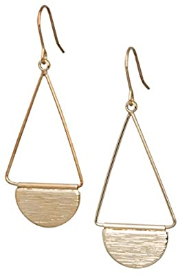 New! Shield Paddle Earring Lightweight Statement Earrings   SPUNKYsoul Collection