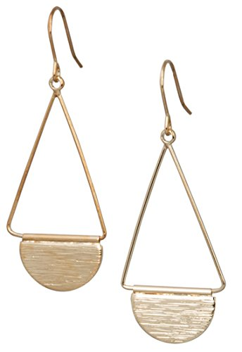 - Shield Earring (Small Gold)