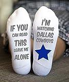 Dallas Cowboys Socks Birthday Gifts Game Day