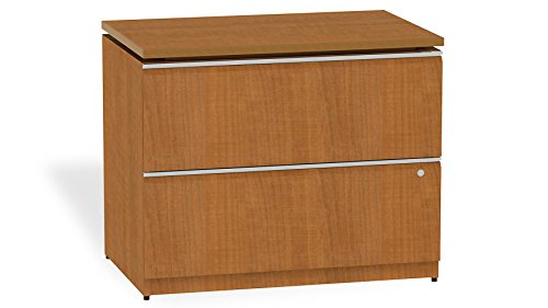 Modern Office BBF Milano 2 Drawer Lateral File- Golden ()