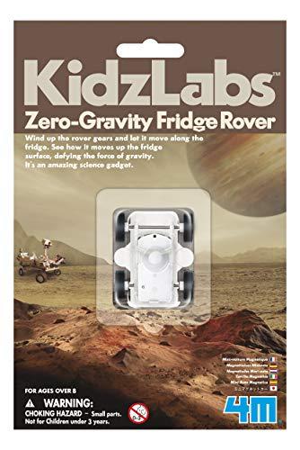 4M KidzLabs Zero Gravity Fridge Rover - Magnetic Science Moon Landing, Mars Planet  - STEM Toys Educational Gift for Kids & Teens, Girls & Boys
