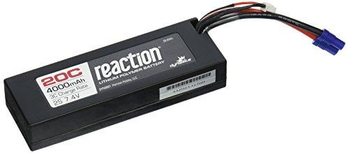 Dynamite Reaction 7.4V 4000mAh 2S 20C LiPo Hard Case: EC3 Battery