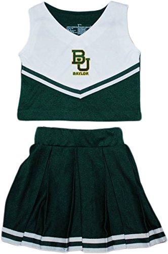 Piece 2 Cheerleader Dress (Creative Knitwear University of Baylor Bears 2 Piece Cheerleader Dress)